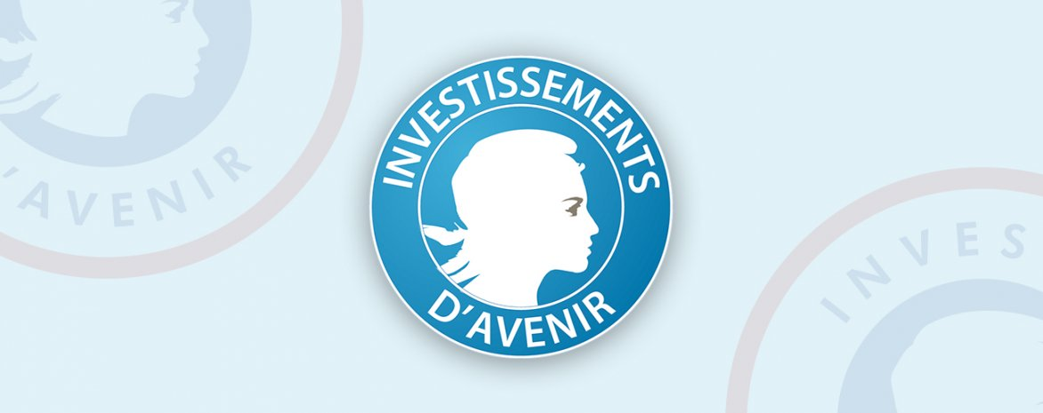 Visuel avec le logo Investissement avenir