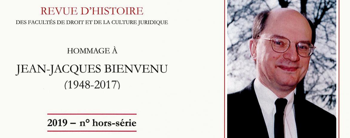 Visuel de l'ouvrage en hommage à Jean-Jacques Bienvenu
